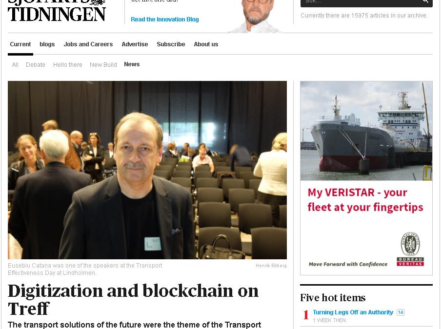 Digitization and blockchain on Treff