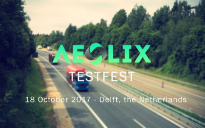 AEOLIX TESTFEST in Delft, the Netherlands
