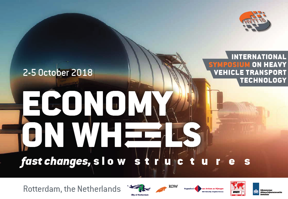 Connected truck platooning meets  Logistics at HVTT15 (Heavy Vehicle Transport Technology conference) in Rotterdam – 2 – 5 October
