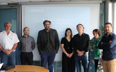 AEOLIX Living Lab 6 organises workshop at Port of Bordeaux