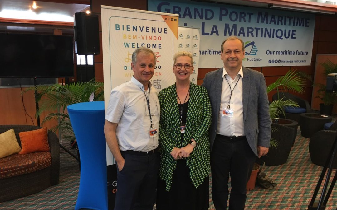 AEOLIX presented at the Carribbean Supply Chain event