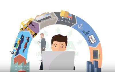 AEOLIX logistics data sharing network – animation video