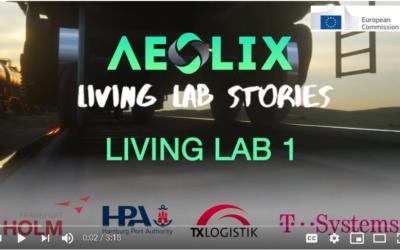 AEOLIX Living Lab Stories #1 – Port of Hamburg