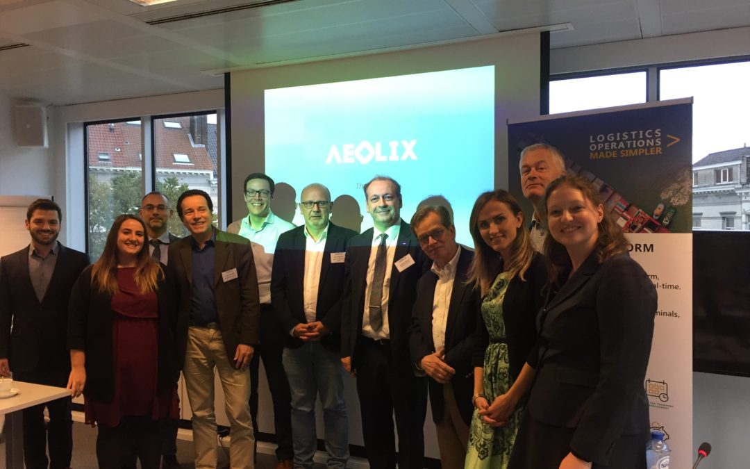 Succesfull end of AEOLIX project at final review in Brussels